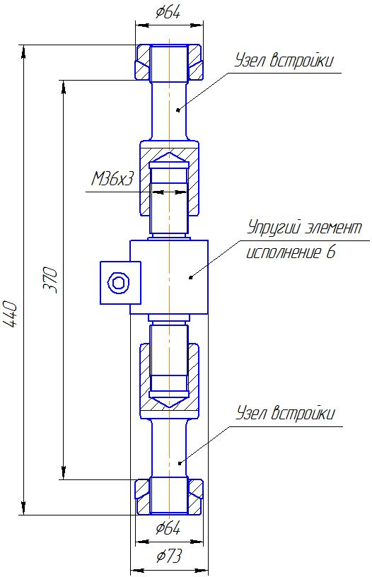 Вариант исполнения 6 - ДМР-150/6-КМГ4