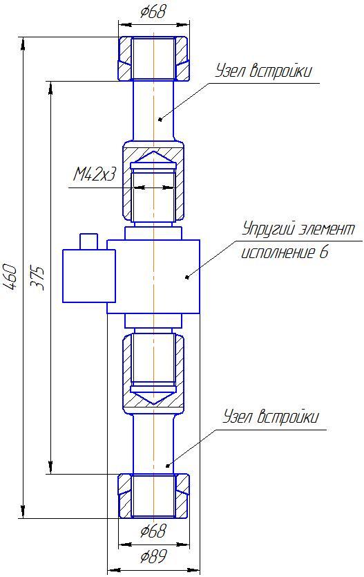 Вариант исполнения 6 - ДМР-300/6-КМГ4