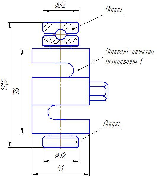 Вариант исполнения 1 - ДМC-7/1-КМГ4
