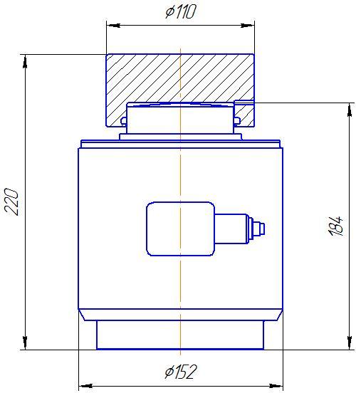 Вариант исполнения 3 - ДМC-1000/3-КМГ4