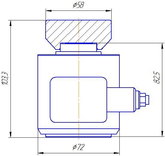 Вариант исполнения 3 - ДМC-100/3-КМГ4