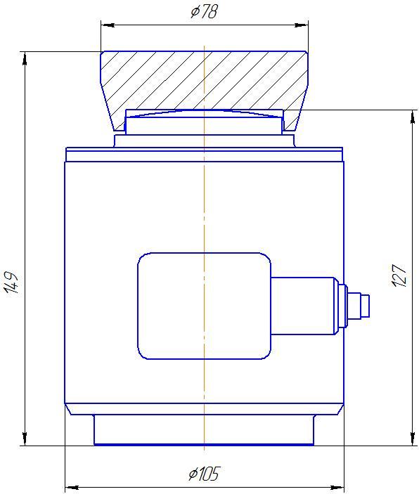 Вариант исполнения 3 - ДМC-300/3-КМГ4