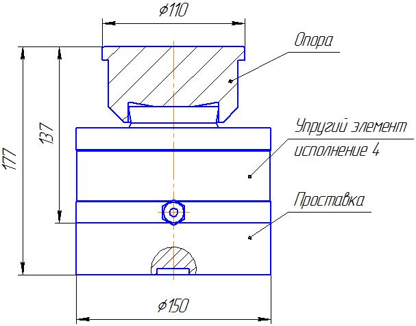 Вариант исполнения 4 - ДМC-1000/4-КМГ4