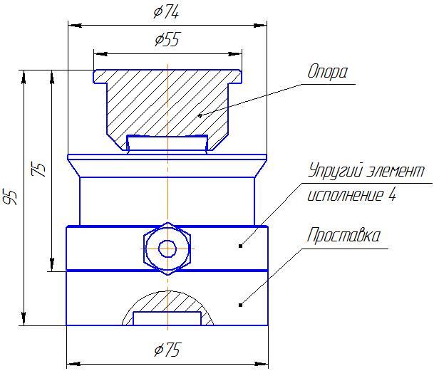 Вариант исполнения 4 - ДМC-100/4-КМГ4