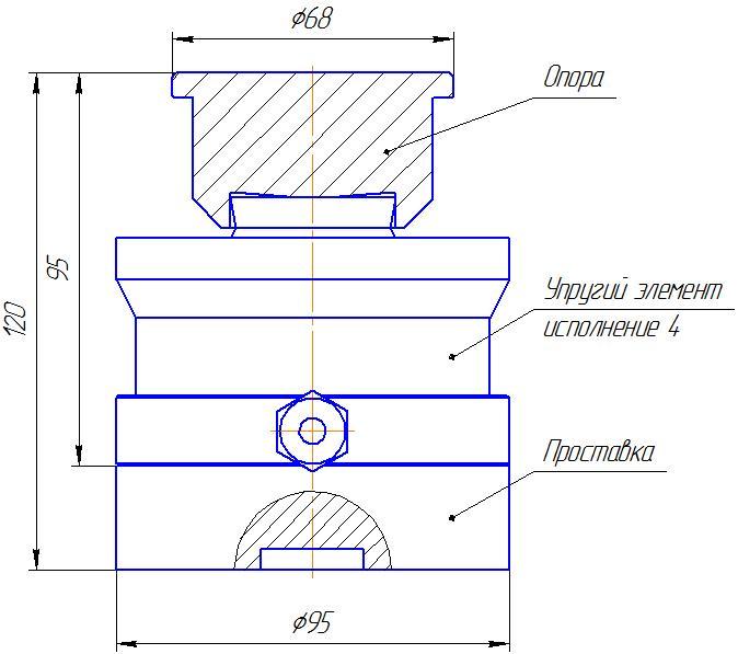 Вариант исполнения 4 - ДМC-300/4-КМГ4