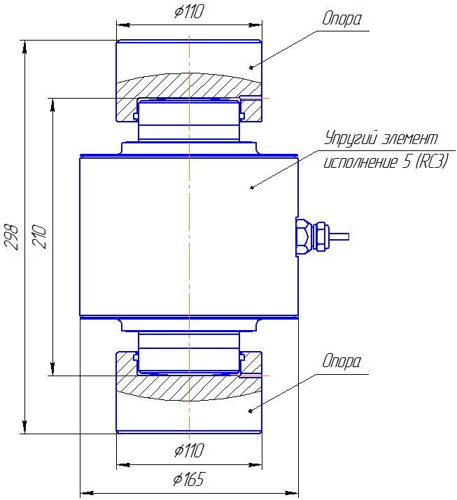 Вариант исполнения 5 - ДМC-1500/5-КМГ4