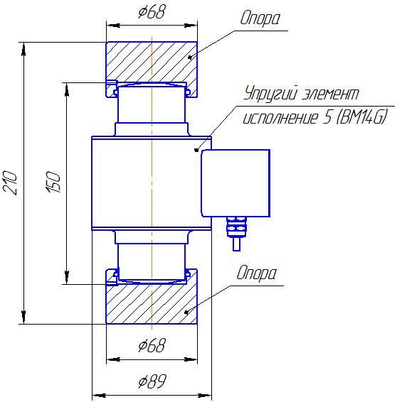 Вариант исполнения 5 - ДМC-300/5-КМГ4