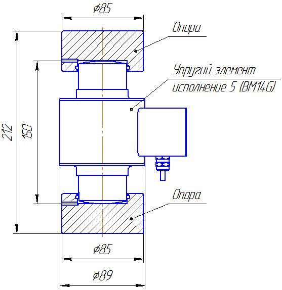 Вариант исполнения 5 - ДМC-500/5-КМГ4