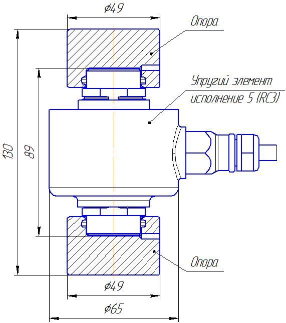 Вариант исполнения 5 - ДМC-50/5-КМГ4